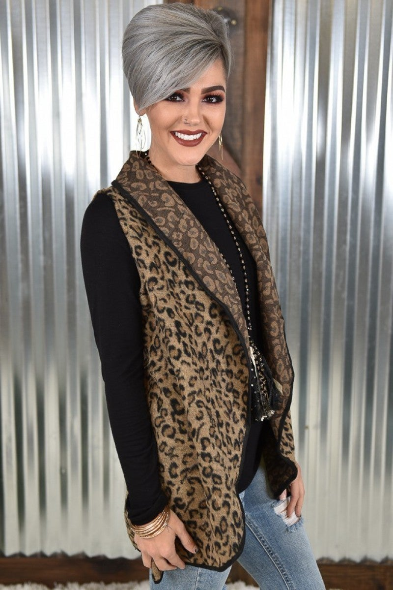 Paw-sitively Perfect Leopard Vest
