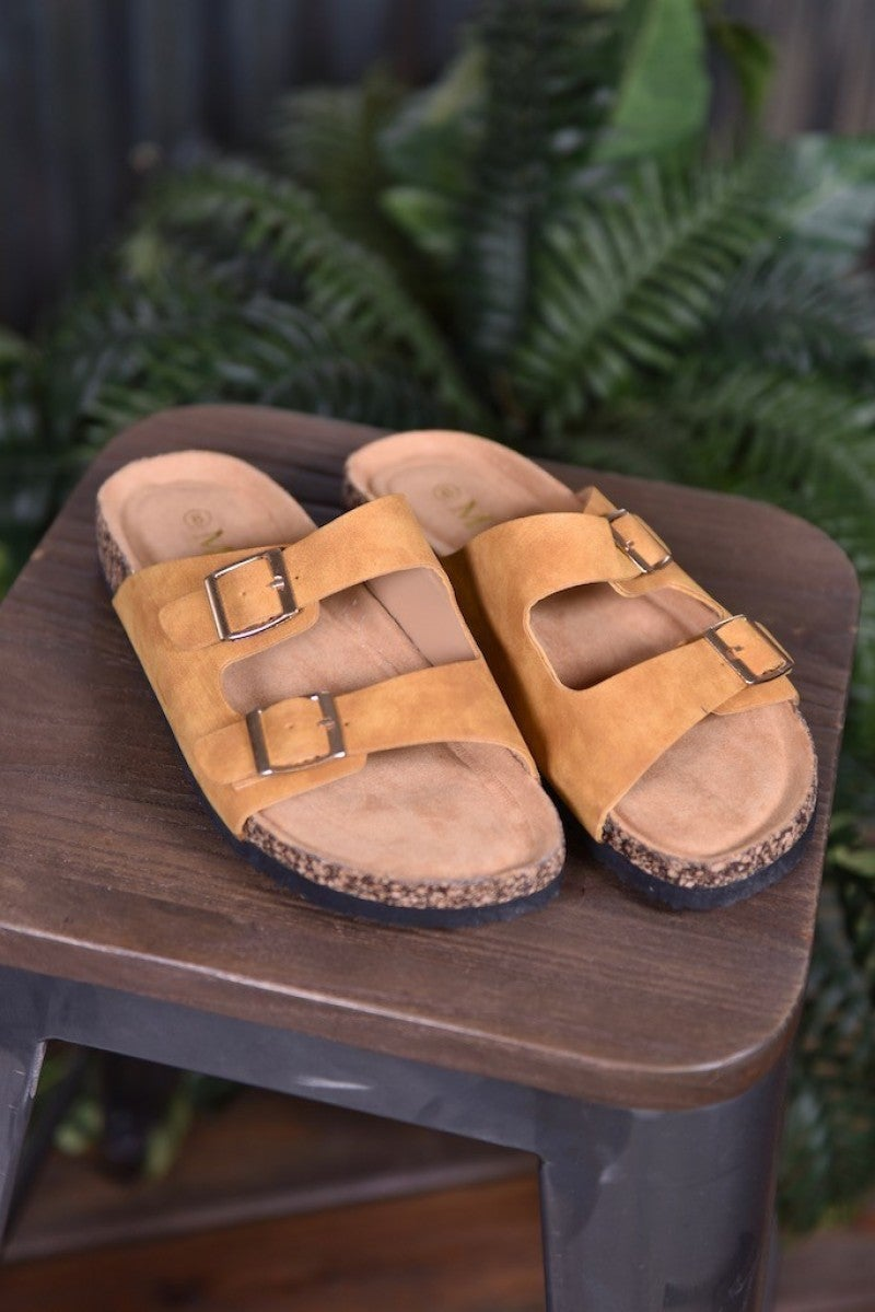 CLEARANCE Mustard Broadwalk 4 Sandals