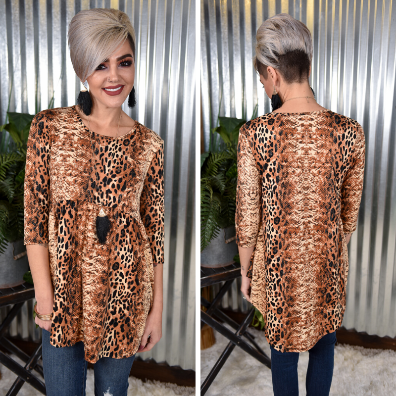 Animal & Snake Empire Tunic