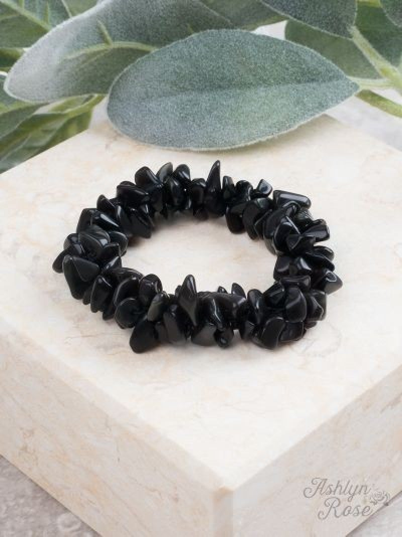 Black Rock Steady Stretch Bracelet