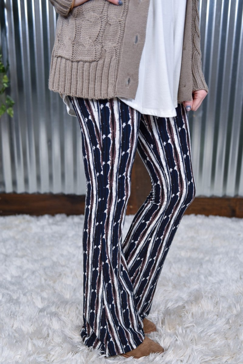 Abstract Palazzo Pants