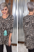 Taupe Leopard Babydoll Tunic *Final Sale*