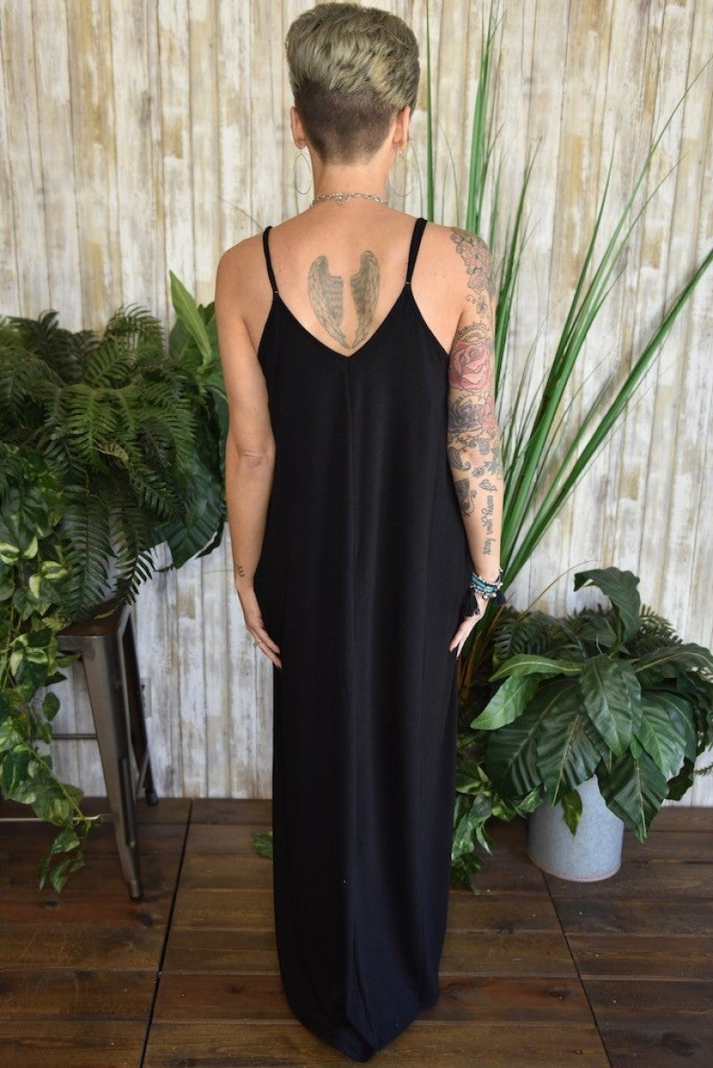 Spaghetti Maxi Dress